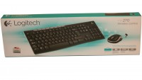 Logitech Wireless  MK270 Tastatur+Maus black