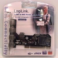 Schnittstelle USB 2.0 PCI  4xUSB 4+1 retail