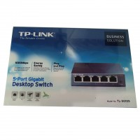 TP-LINK Switch 10/100/1000 5P TL-SG1005 Giga