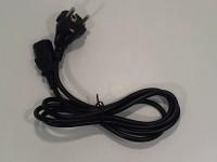 Netzkabel 1,8m 230V 3 polig Kaltgeräte Stromkabel