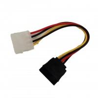 S-ATA Stromadapter (15-polig) auf Molex (4-polig)
