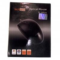 TECHSOLO TC-OP25 optical black Maus